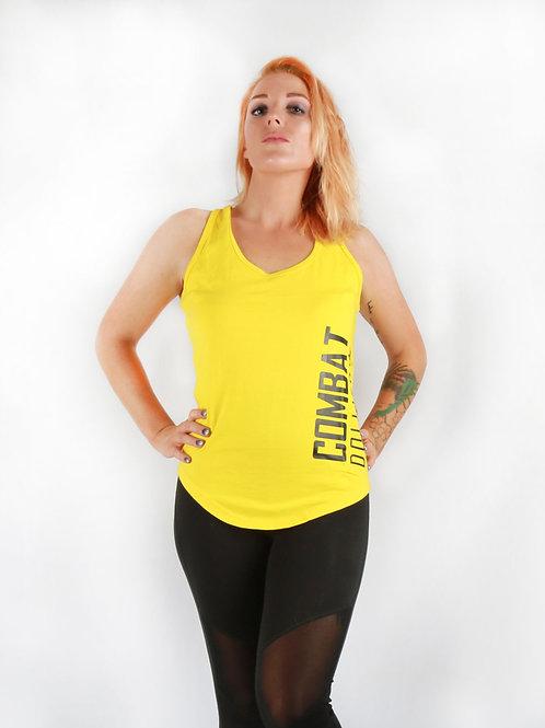 Yellow Split Back Vest