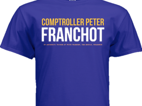 Official Team Franchot T-Shirt