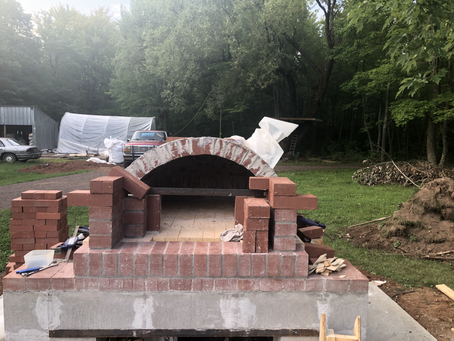 Bread Oven Update