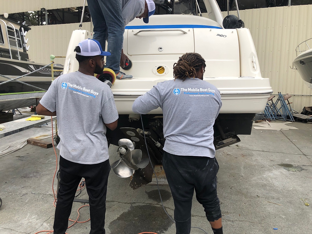 The Mobile Boat Guys was founded in 2015 as a mechanism to help reduce the number of youth that enter the prison system, introduce them to the wide variety of opportunities in the maritime industry, and to empower youth with marketable skills and professional development.  ​