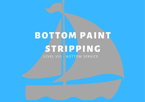 BOTTOM PAINT STRIPPING | THE MOBILE BOAT