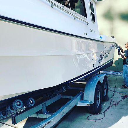 BOAT DETAILING | HULL POLISHING | SEATTL