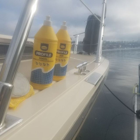 Boat Cleaning and The Products