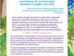 IL GIARDINO SEGRETO - workshop di ARTEterapia - domenica 14 luglio 2019 - ore 14-18 (AO)