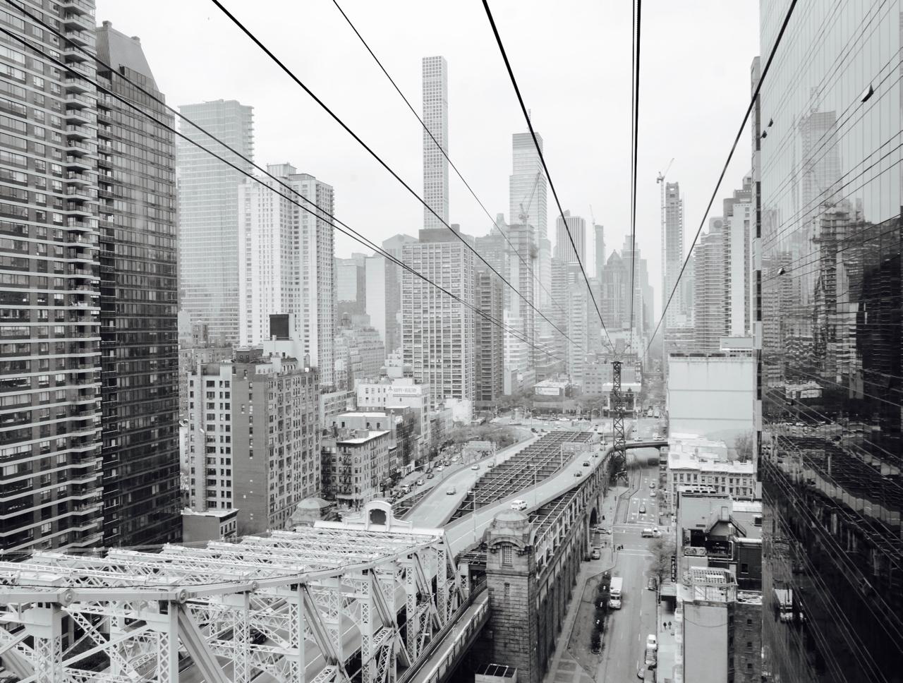 Tramline Queensboro Bridge, NYC 2017