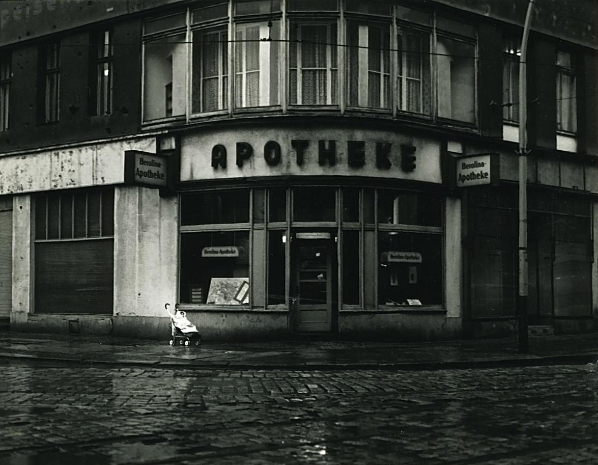 Friedrichstrasse, East Berlin, 1984