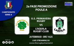 SERIE A - SECONDA FASE: U.S. Primavera vs L'Aquila: