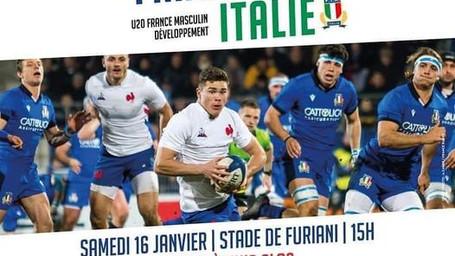 ITALRUGBY U20: PRIMA USCITA DEL 2021 CONTRO I PARI ETA' FRANCESE. DIRETTA STREAMING