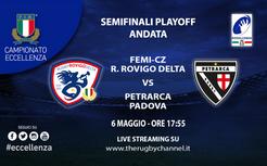 Semifinali Playoff Eccellenza: I link per lo streaming