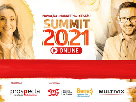 Assista as palestras gravadas do Prospecta Summit 2021