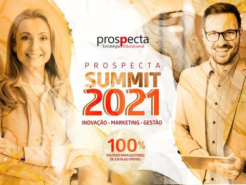 Prospecta Summit 2021: online, gratuito e voltado para escolas cristãs