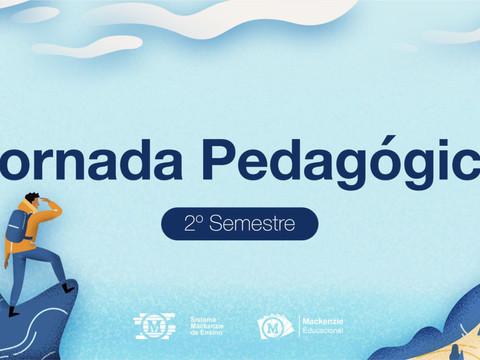 Está chegando a Jornada Pedagógica dos Sistemas de Ensino Mackenzie