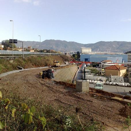 Esecuzione del Nuovo Svincolo autostradale Fornola - la Spezia