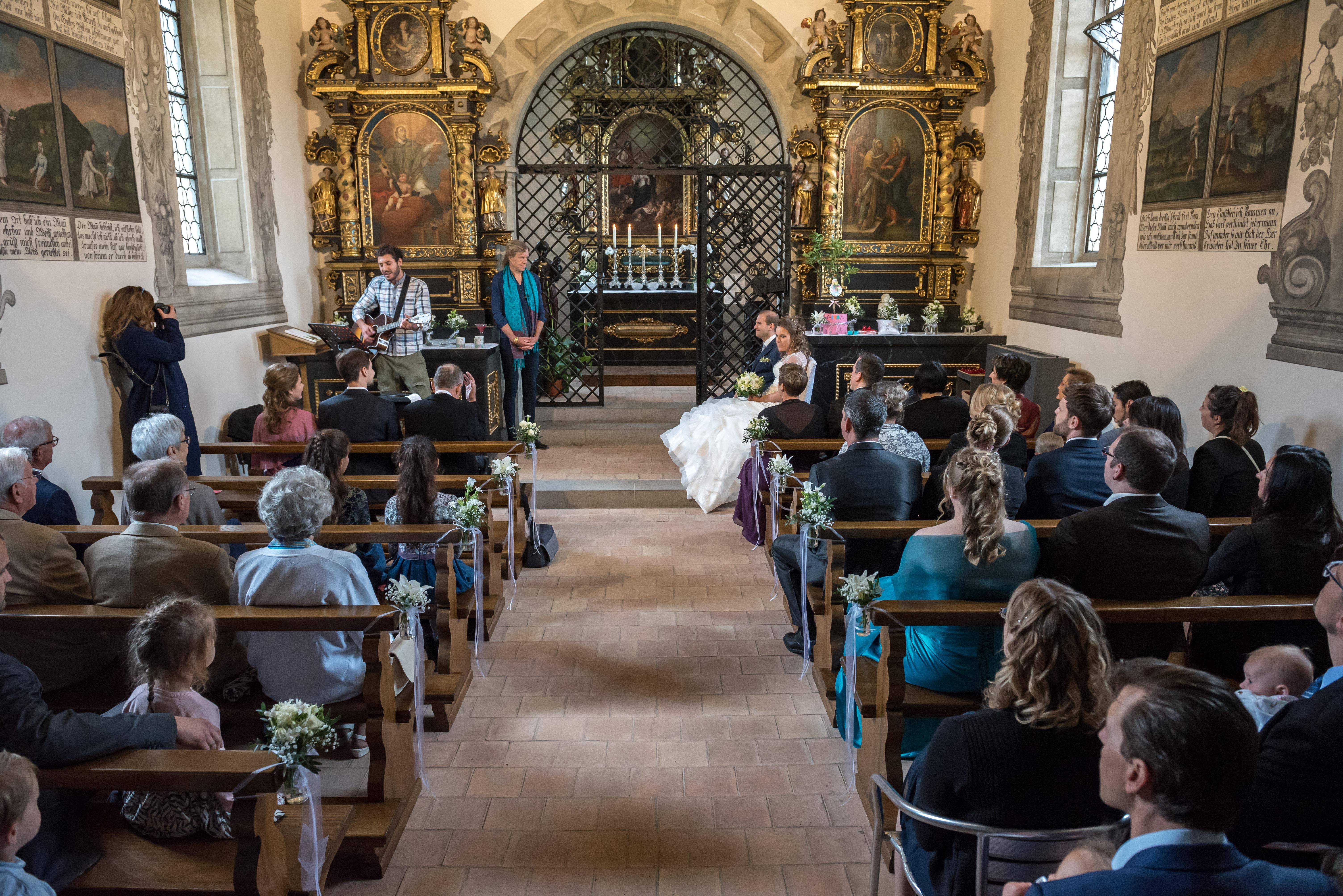 Kirche, Zeremonie, Ja-Wort