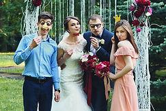 Hochzeit Outdoor mit der Fotobox
