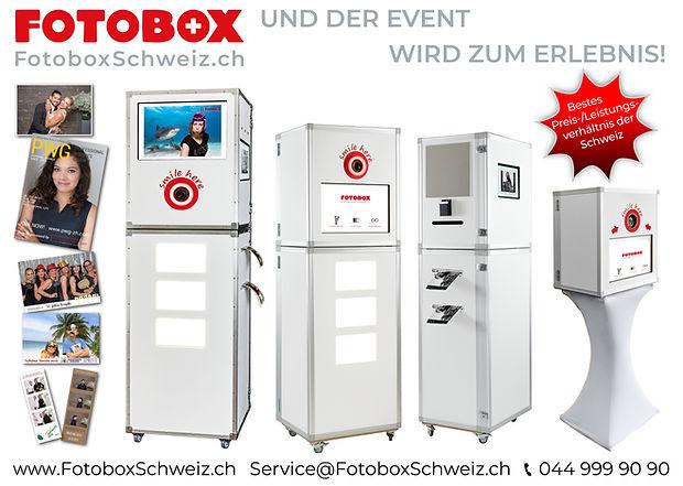 FotoboxSchweiz.ch bietet Ihnen ein Massgeschneidertes Konzept für Ihre Veranstaltung.
