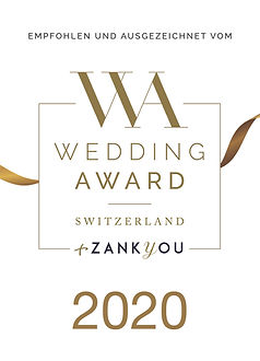Wedding Award Switzerland - 14 von 16 goldene Bänder