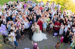 Posing von Gruppen - Hochzeit