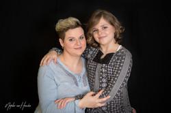 Mutter-Tochter-Portrait
