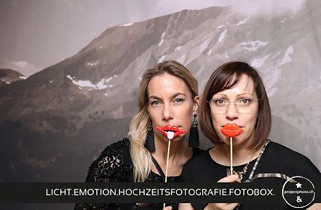 Hochzeitsfotografie & Fotobox mit Projectphoto.ch