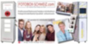 FOTOBOX - professionell betreute Fotobox mit Fotoprint in der ganzen Schweiz