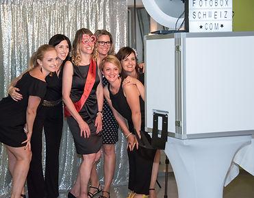 Fotobox Vermietung am 50. Geburtstag in Wil (SG)
