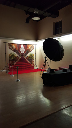 Photo Red Carpet Set-up