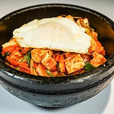 D40. Tofu Kimchi Dolsot