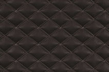 Unique is an Artificial Leather with quilted pattern of GIbson fabric