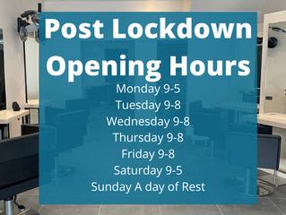 Post-Lockdown Hours