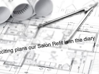 Big News! Salon Refit