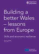 Building a Better Wales
