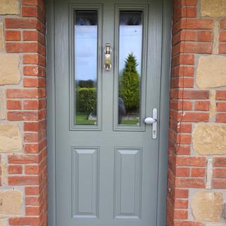 Joyce Door in Concrete grey