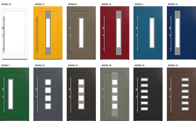 Drutex Aluminium Door Models