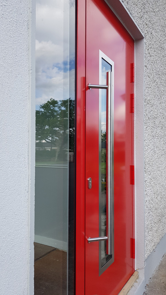 Drutex MB-86SI Flsuh Style Aluminium Doors
