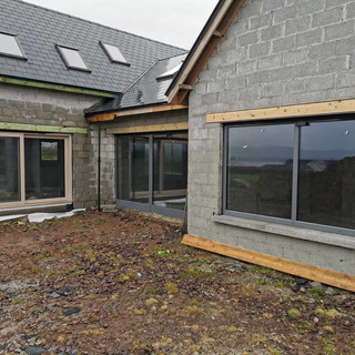 PVC Iglo 5 Classic windows and aluminum doors
