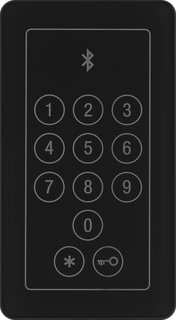 Bluetooth & Code – unlocking the door with a code and a mobile phone