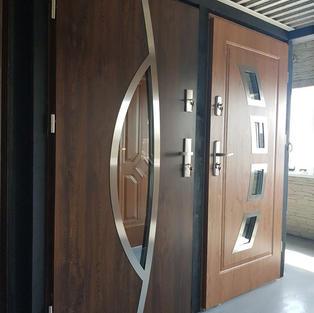 Steel Composite Door Sample