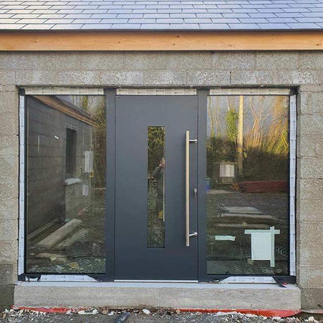 Drutex Aluminium Flush Style Door