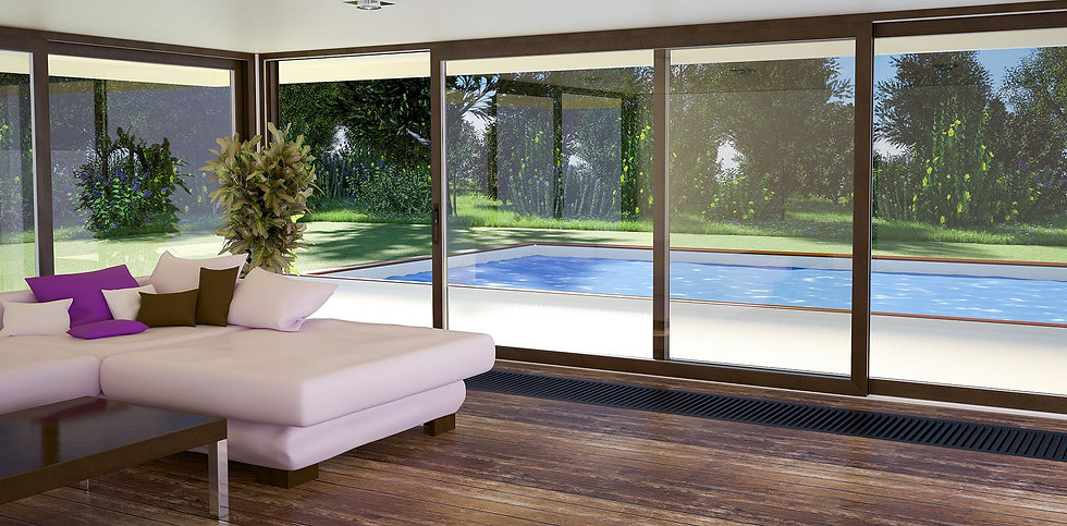 Softline HS Wooden Lift and Slide Door