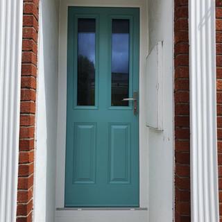 Joyce Door in Pastel Turquoise