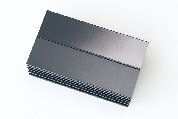 Gloss and Matte Finish Anthracite RAL 70