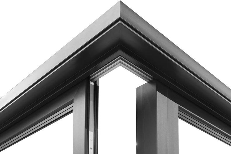 Iglo HS Corner Lift and Slide PVC Door.j