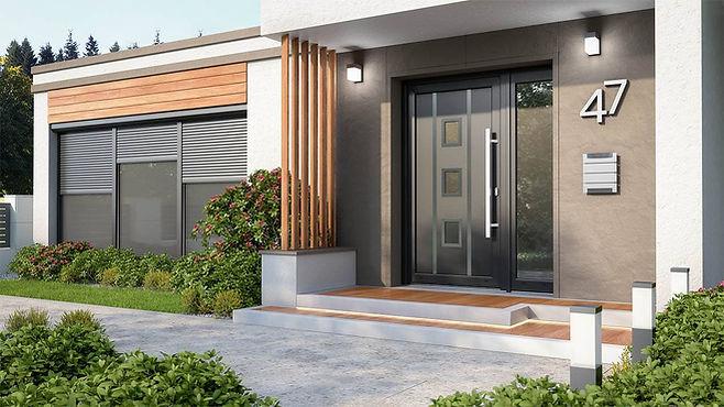 PVC Composite Doors