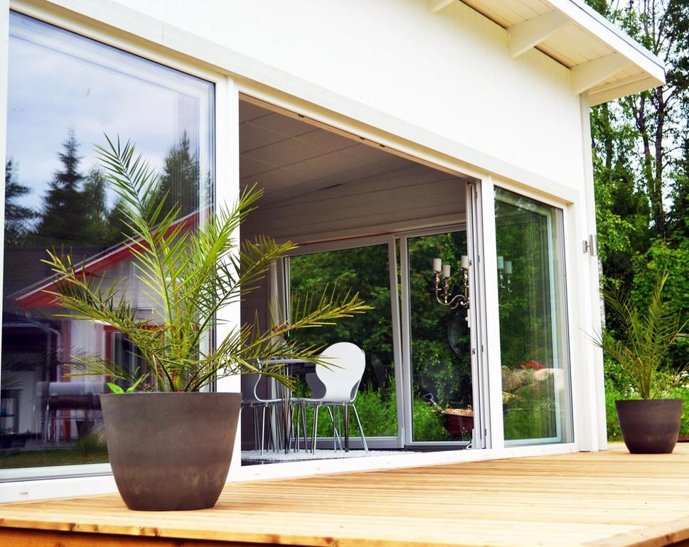 Drutex PVC Tilt and Slide Door