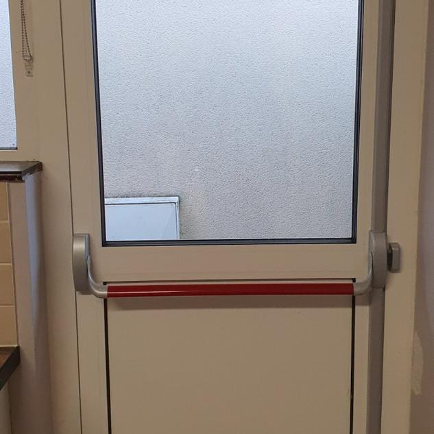 Aluminium Fire Exit Door