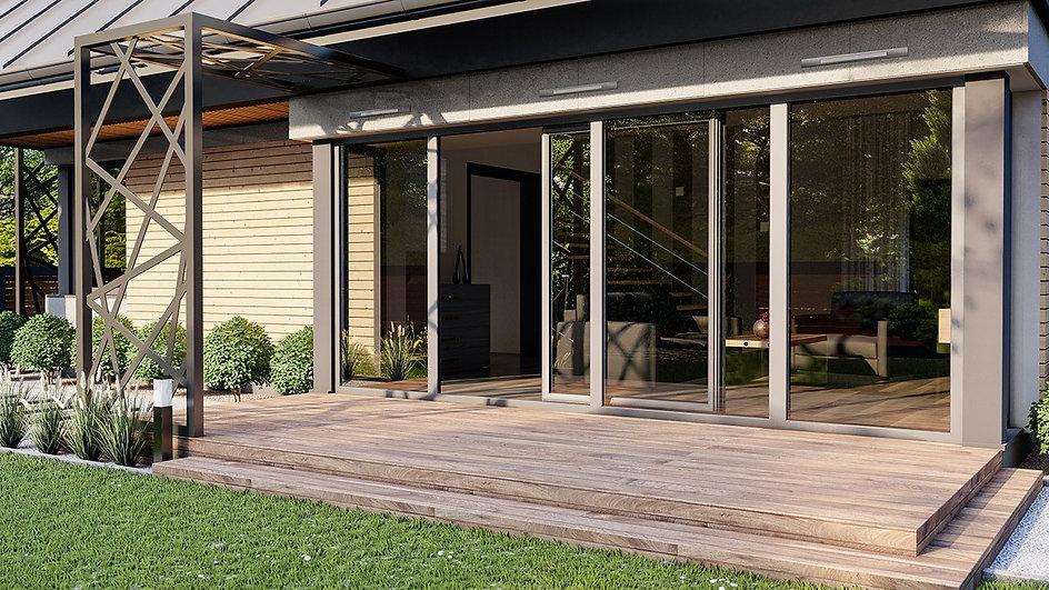 Iglo Energy PSK PVC Tilt and Slide Door