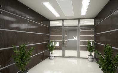 MB-45 Aluminium Glass Doors