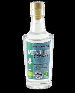 Alcool de menthe poivrée BIO
