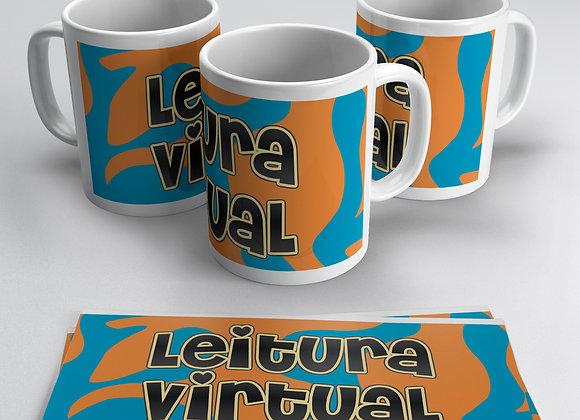 CANECA PERSONALIZADA - CANAL 'LEITURA VIRTUAL' 01